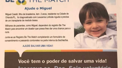 Salve a vida de Miguel Carelli: seja doador de medula óssea
