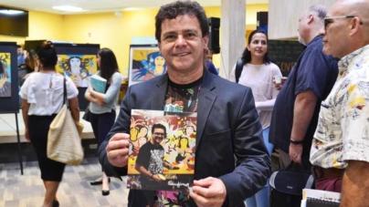 Artista brasileiro faz sucesso em exposição nos Estados Unidos