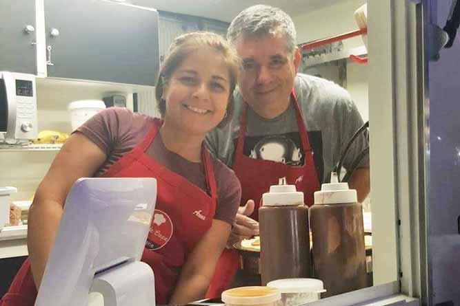 Food Truck Brasileiro oferece crepes deliciosos