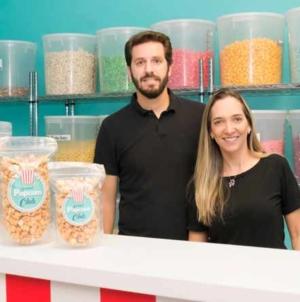 Gourmet Popcorn Club, fantástica loja de pipocas