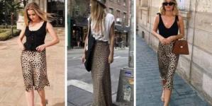 Nova tendência do verão: saias de estampa leopardo!