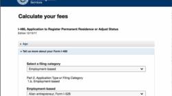 Nova ferramenta do Serviço de Imigração dos Estados Unidos calcula taxas e ajuda a evitar pagamentos incorretos