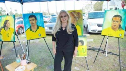 Ícones da Seleção Brasileira homenageados em exposição