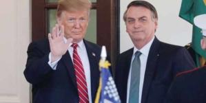 Polêmica e acordos no encontro entre Trump e Bolsonaro