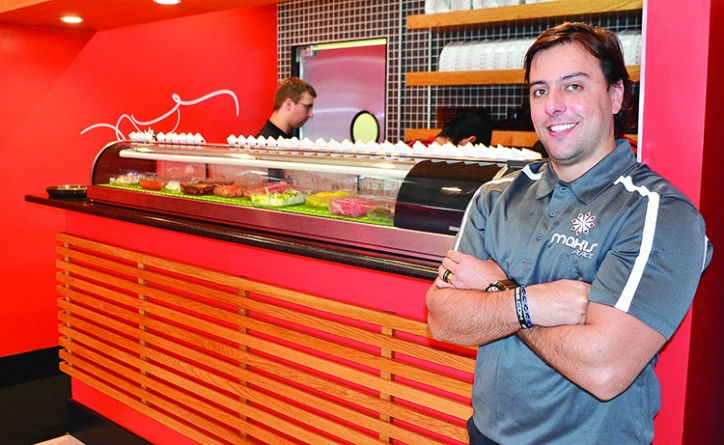 """Temakeria Makis Place"" em downtown Winter Park"