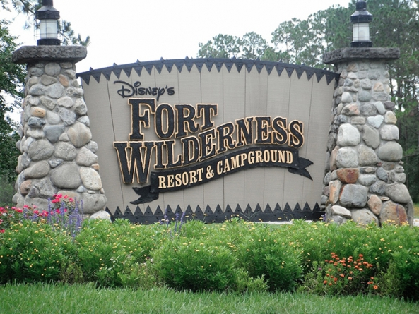 "Acampar ao ar livre no ""Disney's Fort Wilderness"""