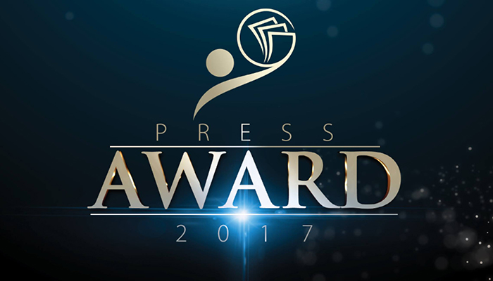 "Press Award 2017 celebra premiação no ""Broward Center"""