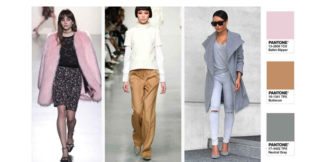 Cores do outono/2017: Ballet Slipper, Butterum e Neutral Gray