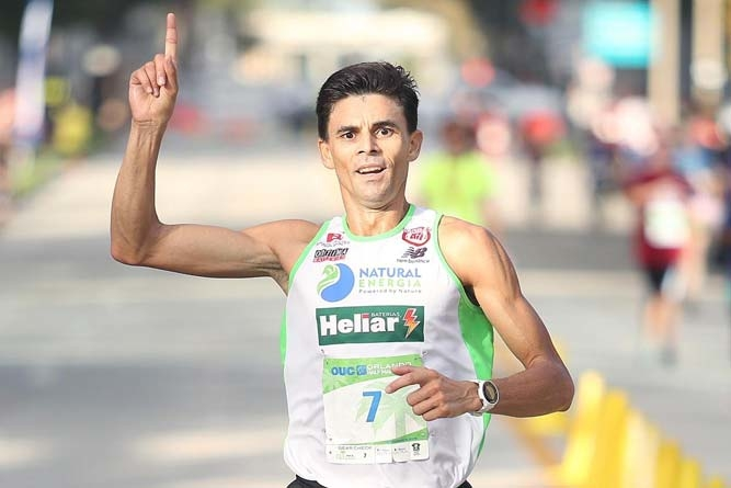 "Fredison Costa sobre aDisney World Marathon Weekend: ""estava no meu limite"""