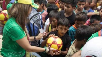 Global Foundation leva esperança às crianças do Brasil e Haiti