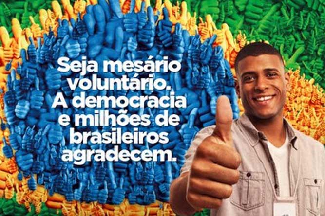Consulado Brasileiro abre inscrições para voluntários a mesário em 2018