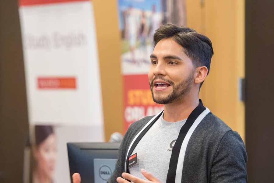 Geovany Dias, que falou sobre empreendedorismo pessoal
