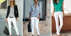 Calça branca: muitas possibilidades em uma única peça