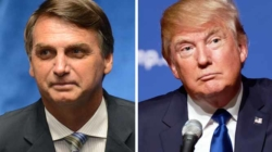 Brasileiros votam em Bolsonaro nos EUA, mas rejeitam Trump nas urnas