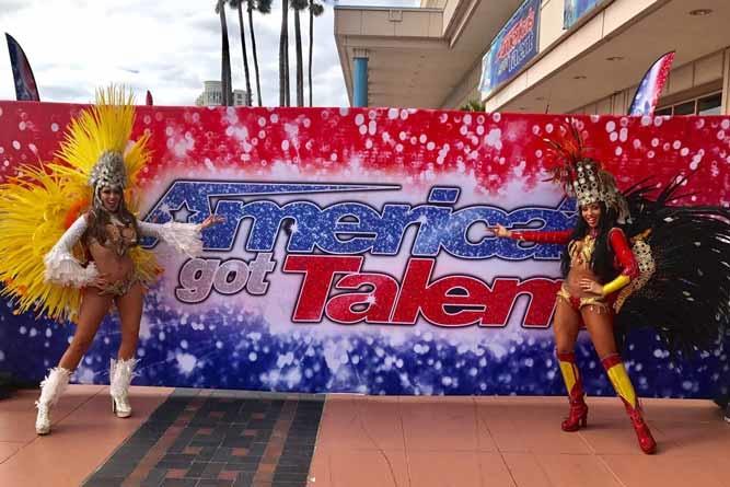 Samba e Carnaval agitam programa American's Got Talent