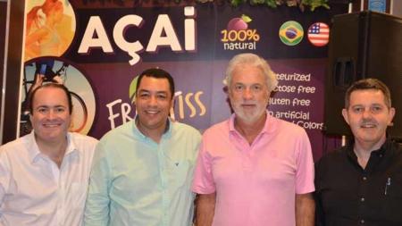 Orlando recebe CEO's da Fruitiss Açaí Café