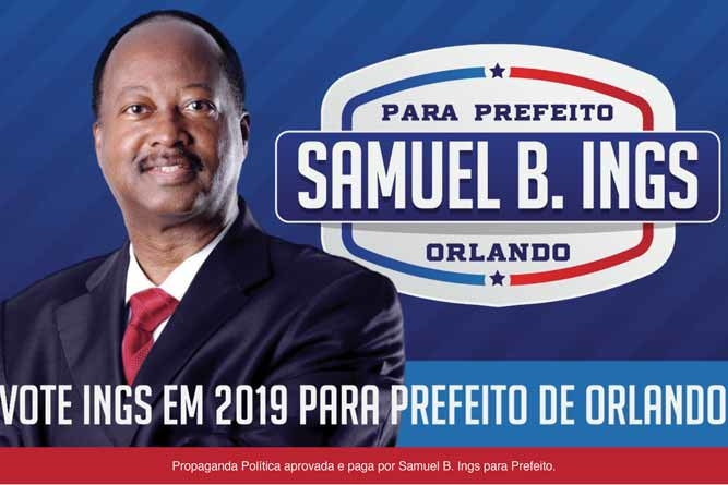 Samuel Ings já é considerado o candidato da comunidade brasileira