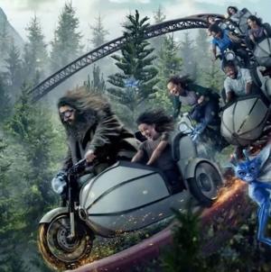 Nova montanha russa do Harry Potter será inaugurada este mês