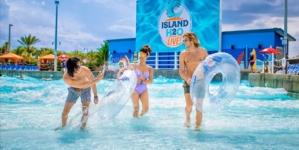 Aproveite o verão no Parque Aquático Island H2O Live