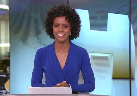"""Maju Coutinho assume bancada do """"Jornal Hoje"""""""