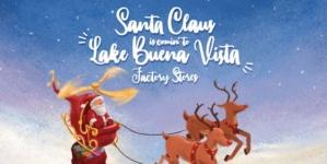 Tudo pronto para festa de Natal no Lake Buena Vista