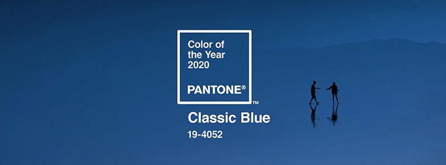 Classic Blue é a cor para 2020