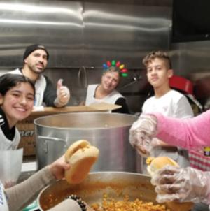 Campanha da LBV arrecada toneladas  de alimentos para famílias em Newark