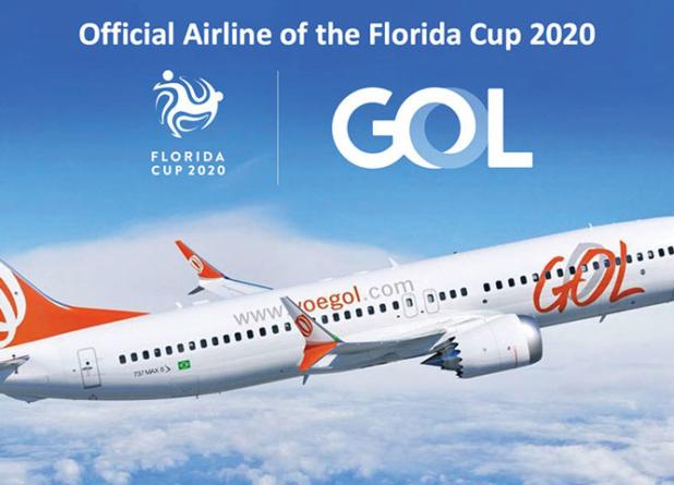 Gol Linhas Aéreas entra em campo na Florida Cup