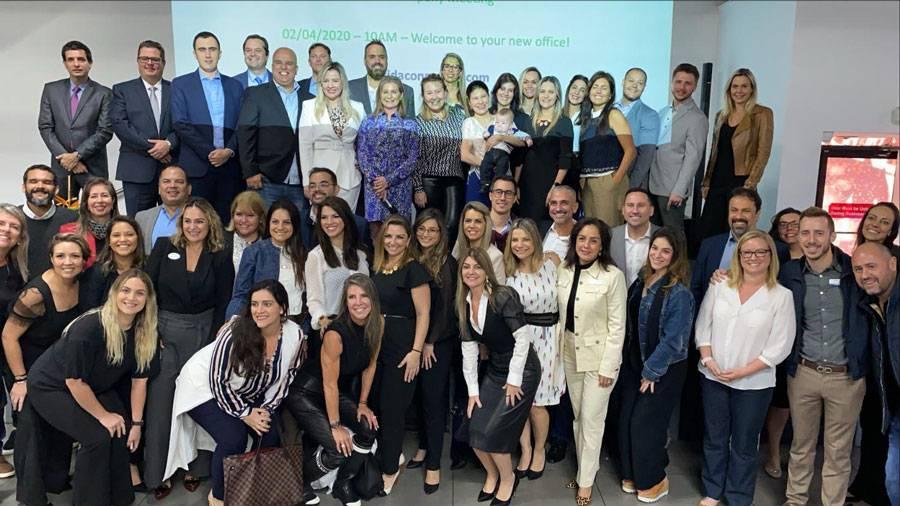 Formula do sucesso: Florida Connexion Group promove encontros mensais entre seus corretores e fornecedores de serviços
