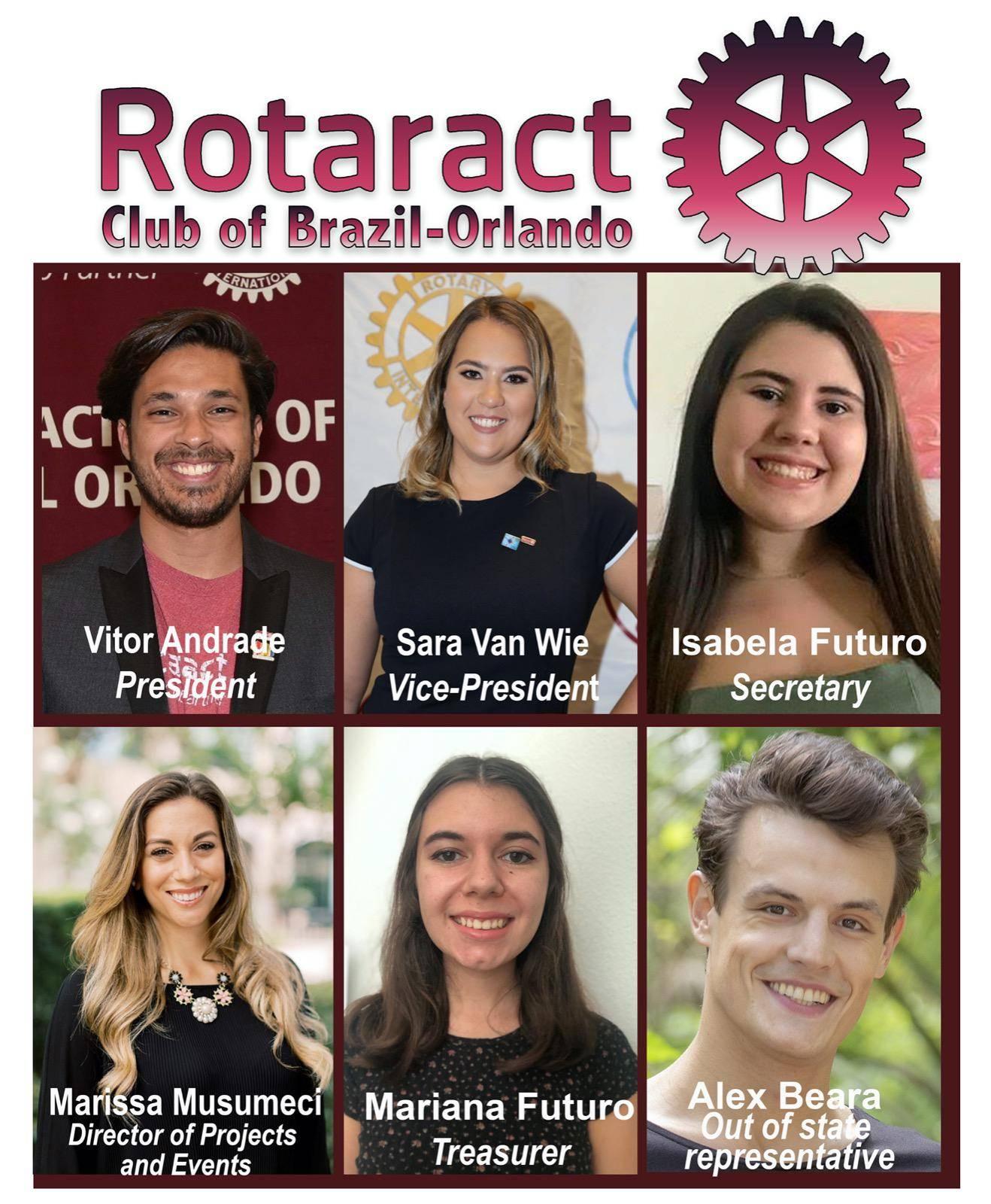 """Vitor Andrade, DJ e produtor musical, é o presidente do """"Rotaract Club Brazil – Orlando"""""""