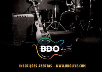 Prorrogadas as inscrições para o BDO Live Song Festival 2020