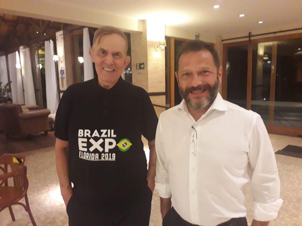 Cônsul-Honorário do Brasil em Orlando é recebido por empresários em Poços de Caldas