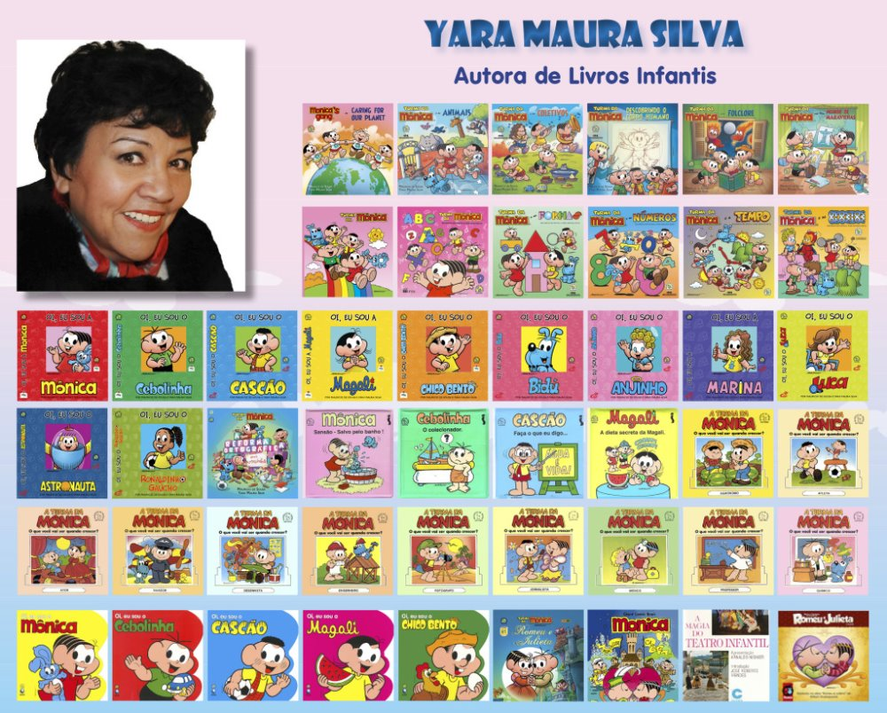 Revelações fantásticas da escritora de livros infanto-juvenis Yara Maura Silva