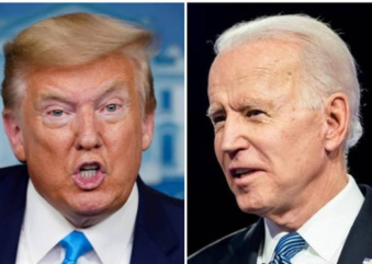 Troca de insultos e acusações marcaram o primeiro debate entre Trump e Biden