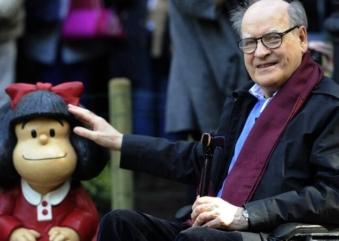 O adeus ao cartunista Quino, criador da mundialmente famosa Mafalda
