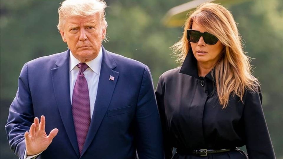 Trump e primeira-dama dos EUA testam positivo para coronavírus
