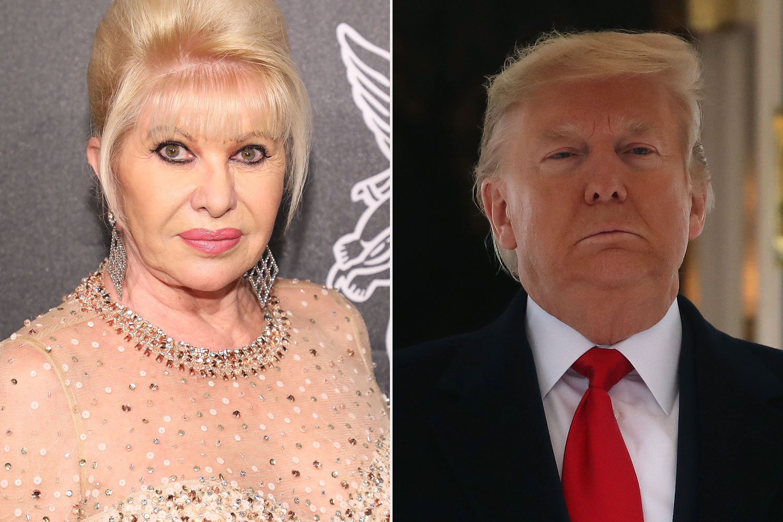 Ivana Trump, ex-esposa de Trump, pede ao presidente que desista e aceite que perdeu