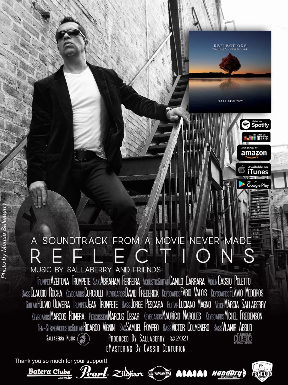 """Músico brasileiro supera desafios e faz lançamento mundial do álbum """"Reflections"""""""
