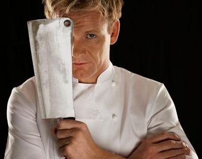 Chef Gordon Ramsay abrirá restaurante em Orlando, em agosto.