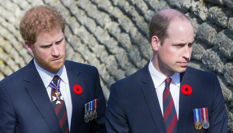 O reencontro dos príncipes Harry e William em funeral, após entrevista polêmica que irritou família real