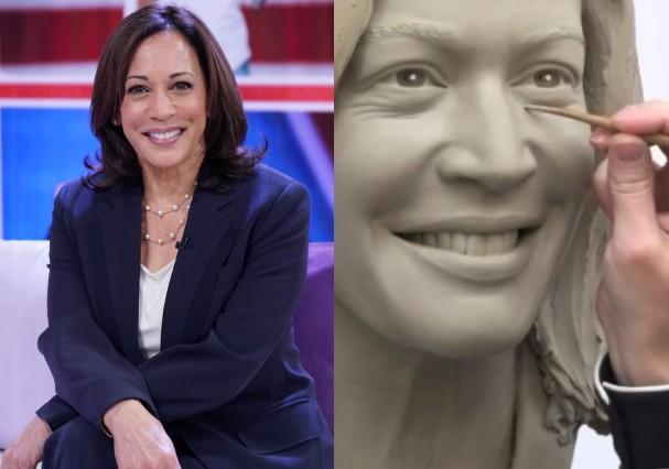 Kamala Harris será primeira vice-presidente homenageada no 'Madame Tussauds'