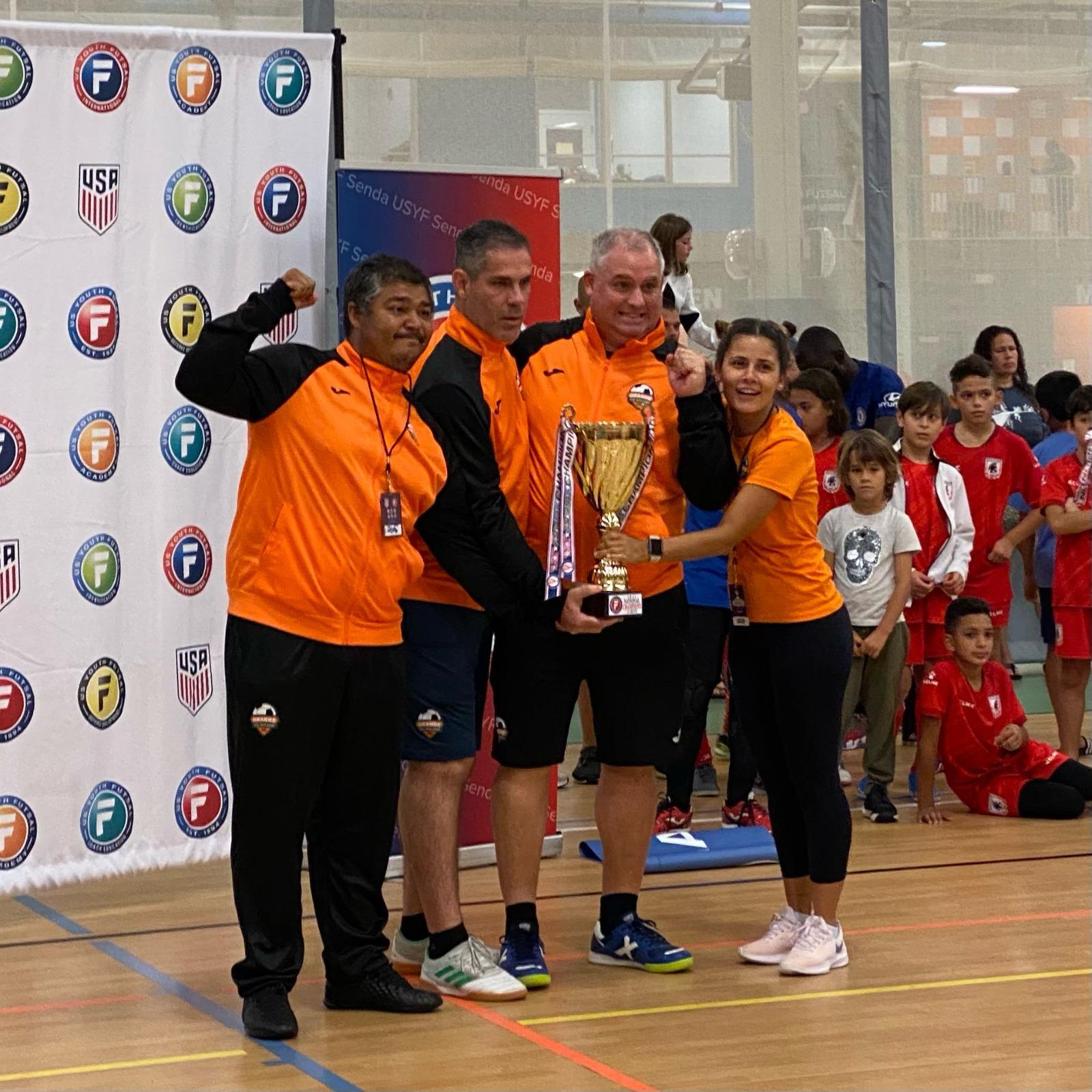 "'U12' da ""Orange Futsal Soccer Academy"" é campeã do 'Youth Futsal National'"