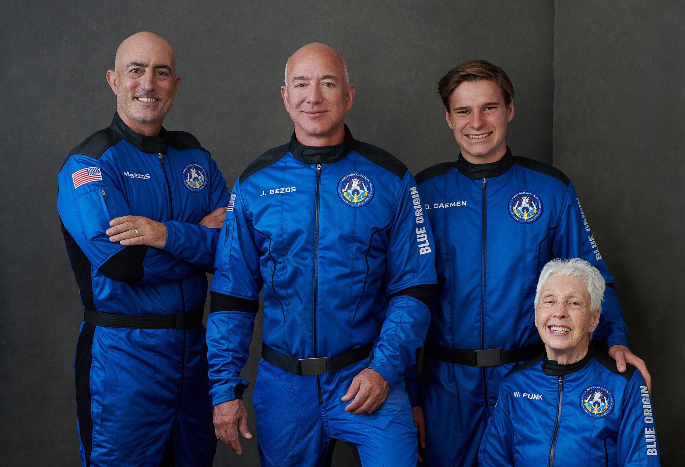Jeff Bezos fez história com voo de 10 minutos ao espaço