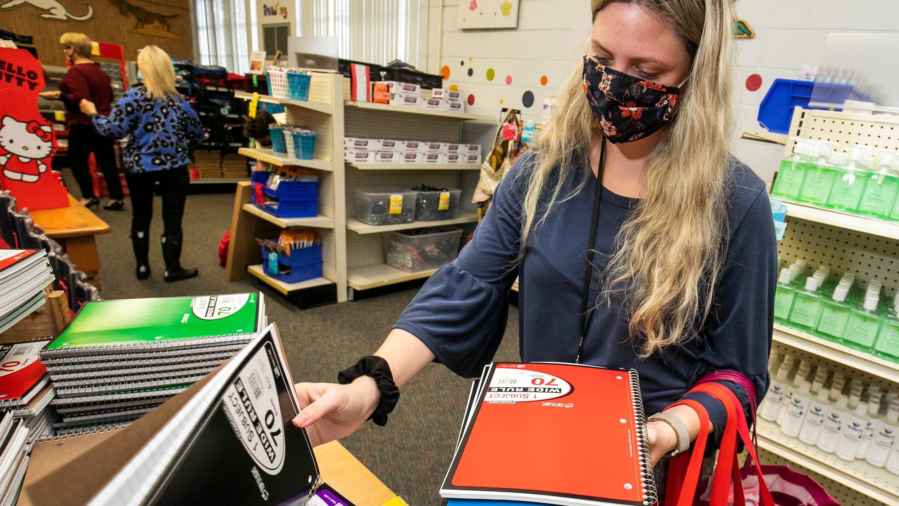 Material escolar isento de impostos, no Feriado Fiscal de volta às aulas na Flórida
