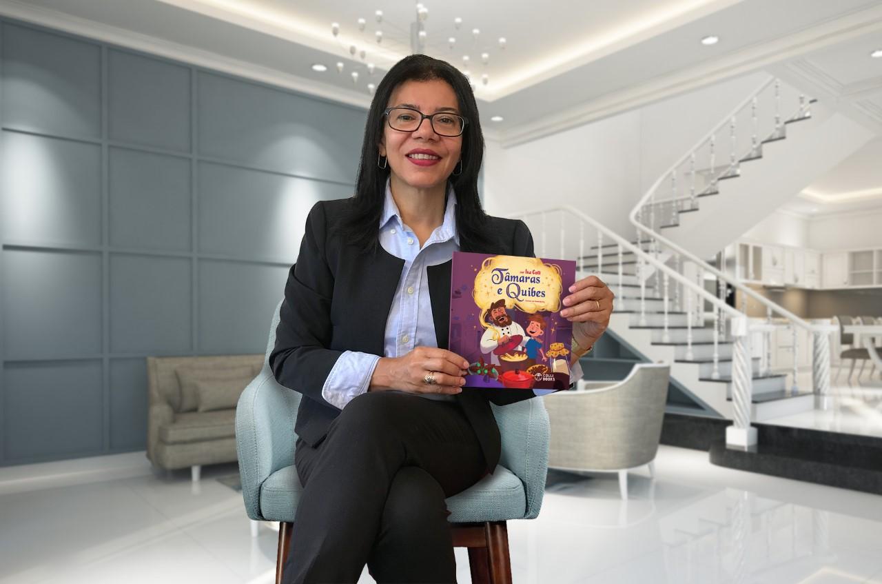 Isa Colli, exemplo de superação, conquista leitores com obras infantis eromance para adultos