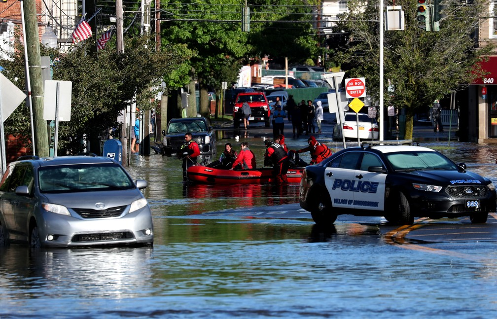 Biden visitará áreas de inundação em Nova York e Nova Jersey