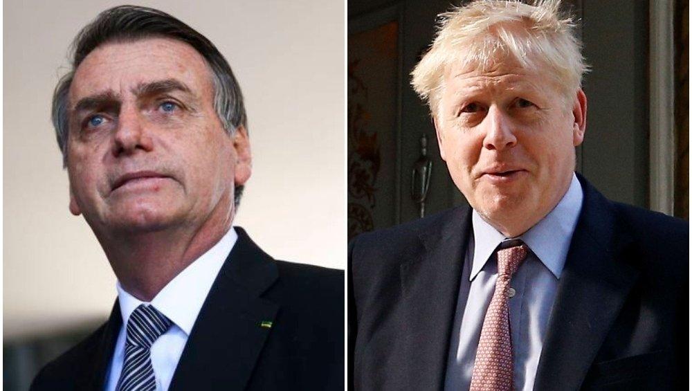 Bolsonaro e Boris Johnson se encontram em Nova York; presidente fará discurso na ONU