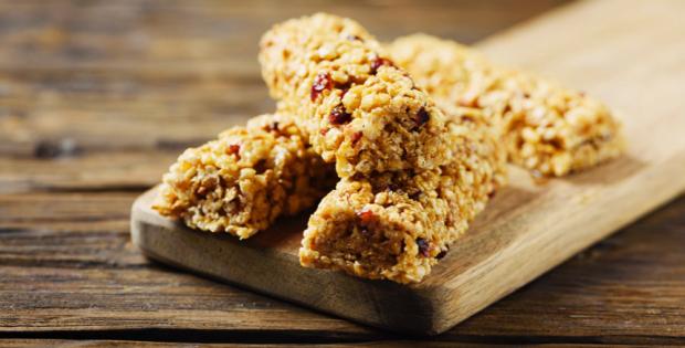 Barrinha de cereal saudável