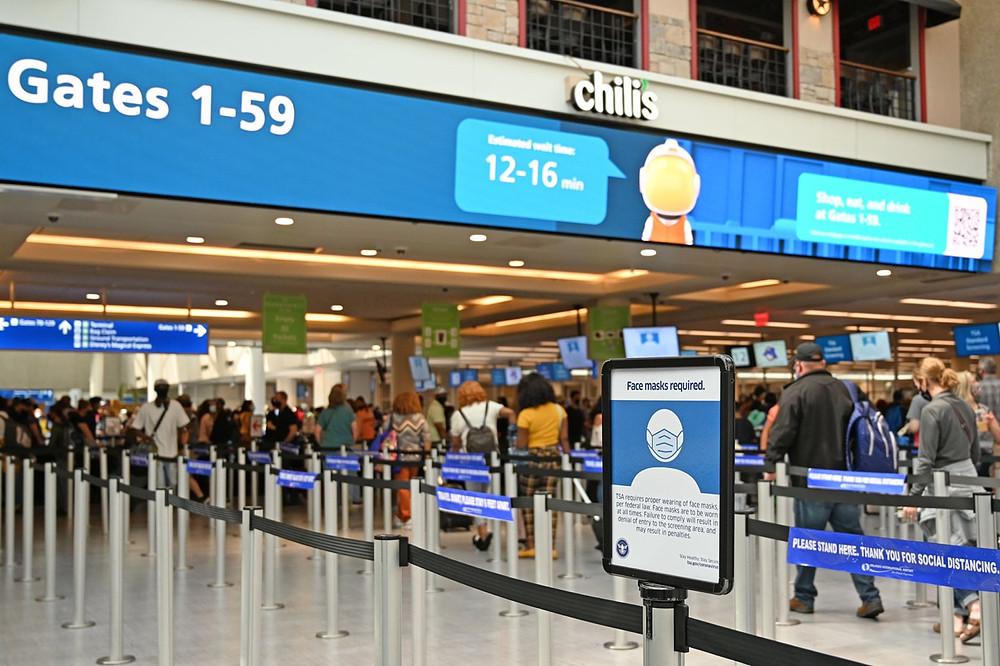 Aeroporto de Orlando e Miami se preparam após flexibilização das restrições