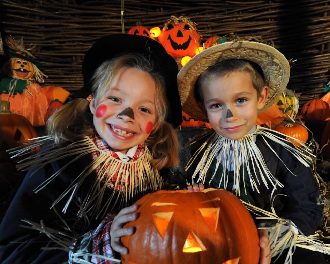 Eventos de Halloween e festivais de outono; diversão assustadora!